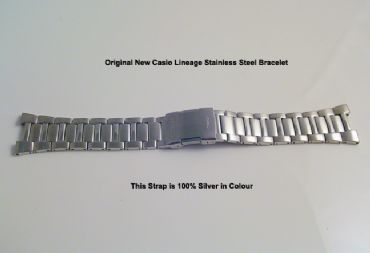 Original Casio Lineage LCW-M160D Stainless Strap - S82